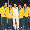 Olympic Gold in the 2000 Sydney Olympics